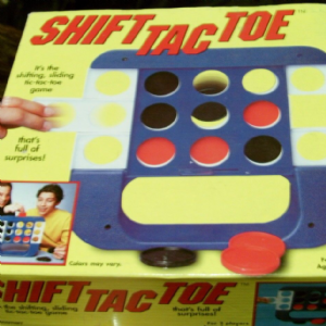 shift tac toe game usa version of connect four to be honest rare to find in uk